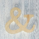 Plywood Letter &