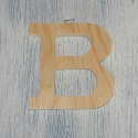 Plywood Letter B