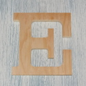 Plywood Letter E