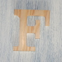 Plywood Letter F