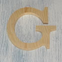 Plywood Letter G