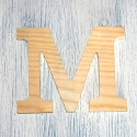 Plywood Letter M