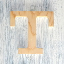 Plywood Letter T