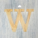 Plywood Letter W