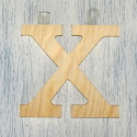 Plywood Letter X