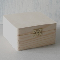 pine box with clasp small