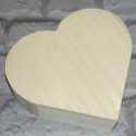 Heart Box with Hinges & Dowel Catch