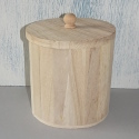 Round Pot with Lid
