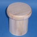 Round Box with oversize loose drop on lid small