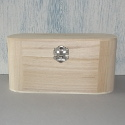 Box with Rounded Corners & Clasp Small