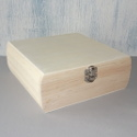 Square Box with Hinge & Clasp