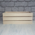 Crate with Wooden Slatted sides