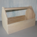 Wooden storage Trug with plywood base