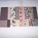 Pack of Decoupage Tissue Paper Oslo Vintage Style Brown Cream  8 assorted sheets