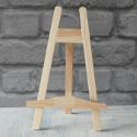 Pine Wooden Easel Display Stand