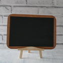 Painted blackboard sign with Easel