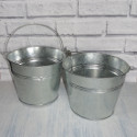 7 inch galvanised bucket
