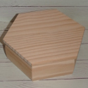Hexagonal Box Hinged