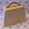Handbag Shaped Box with handle