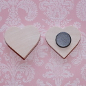 Heart shaped Fridge Magnet