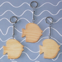 Set of 3 Angel Fish Keyring