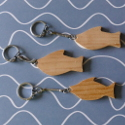 Set of 3 Fish Keyring