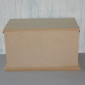 Large MDF Rectangular Box With Drop On Lid
