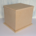 MDF Rectangular Box with drop on lid