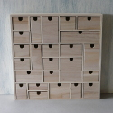 24 drawer Advent chest of drawers