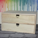 Mini 2 drawer Storage Chest of Drawers