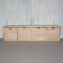 Large 4 drawer mini Chest of Drawers