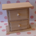 mini 2 drawer chest of drawers