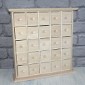 Mini Chest of 25 Drawers, Advent/ Spice