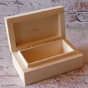 Rectangular box with hinge Lime wood