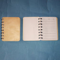 Small Note Book with Wooden Cover