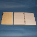 15cm wide  Note Book with Wooden Cover