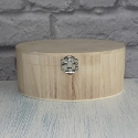 Oval Box with Clasp Small