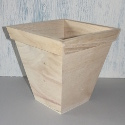 Square top planter