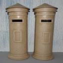 Papier Mache Letter Box Money Box