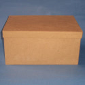 Papier Mache Rectangular Box with drop on lid