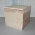 square box with drop on lid