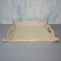 Scalloped Tray with plywood base