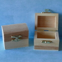 Mini Pine Treasure Chest