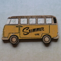Wooden Camper Van decoration,