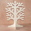 Plywood Standing tree, slots together
