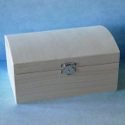 Treasure Chest with silver coloured clasp