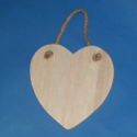 Heart shaped Plaque with String hanger