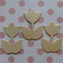 Set of 3 Tulip shapes